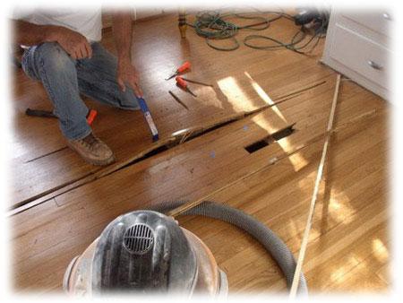 Někdy je nutná celková renovace dřevěné podlahy
