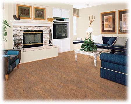 Plovoucí korková podlaha Wicanders