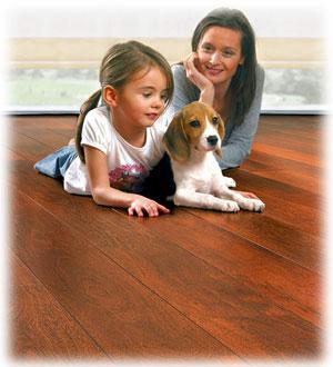 Podlahy vhodné pro domácí miláčky