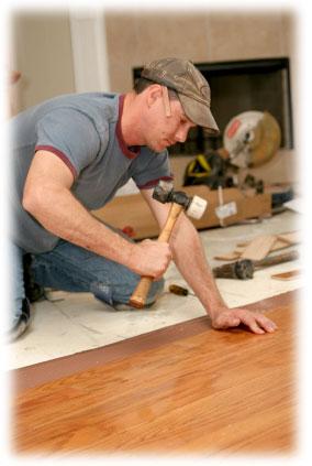 pokládka plovoucích podlah