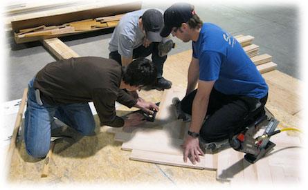 Podlahy Praha zaměstnávají kvalifikované podlaháře