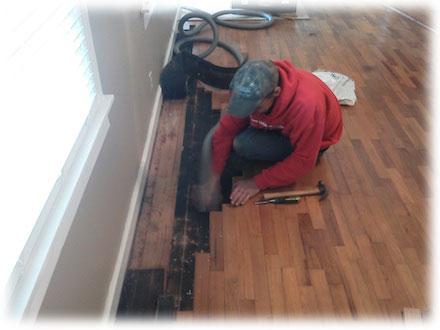 Provádíme renovace starých podlah